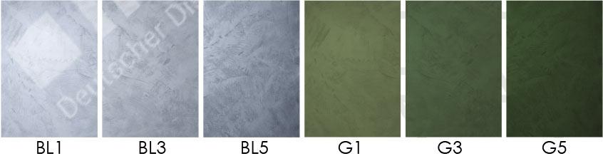 Mikrozement Mischverhältnis grün