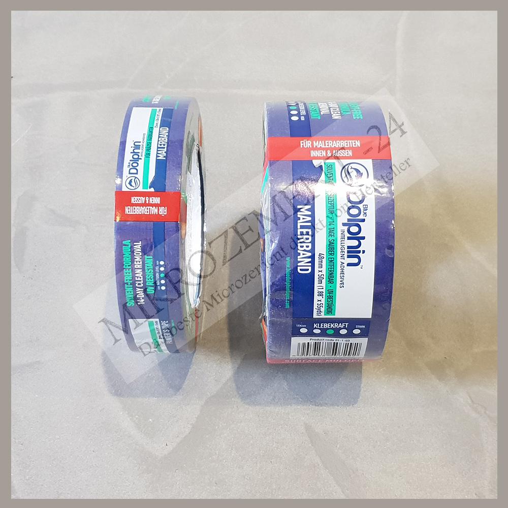 Mikrozement-24_Microzemnt-24.com_Malerband_Blue Dolphin_abkleben