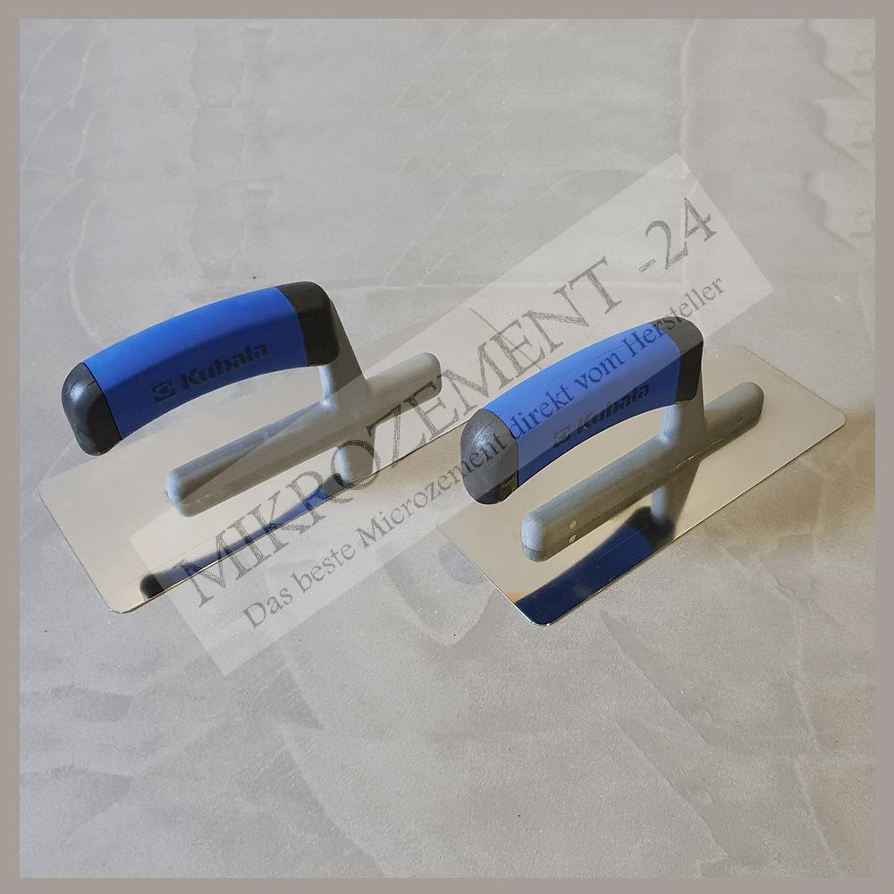 Mikrozement-24_Microzemnt-24.com_Profi Edelstahl Venezianische Spachtel Set