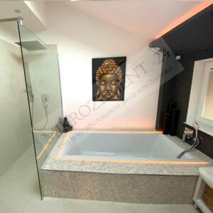 Mikrozement Bad Küche Boden Wand