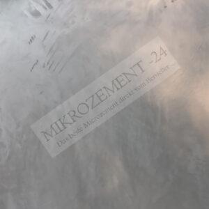 Mikrozement effekt wand
