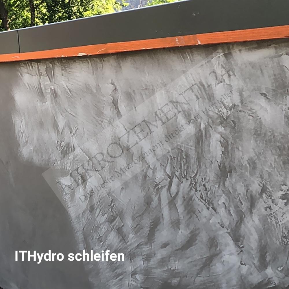 Mikrozement im Aussenbereich_ITHydro_schleifen