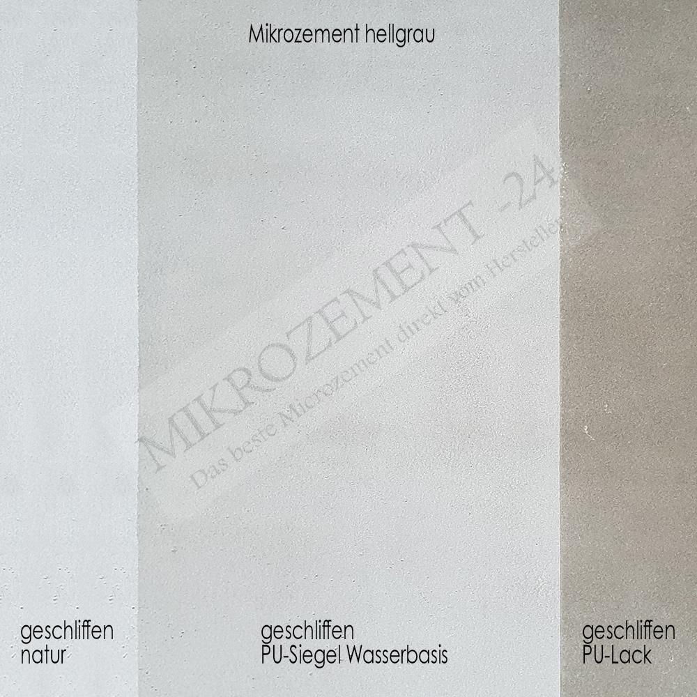 Mikrozement Versiegelung Unterschiede