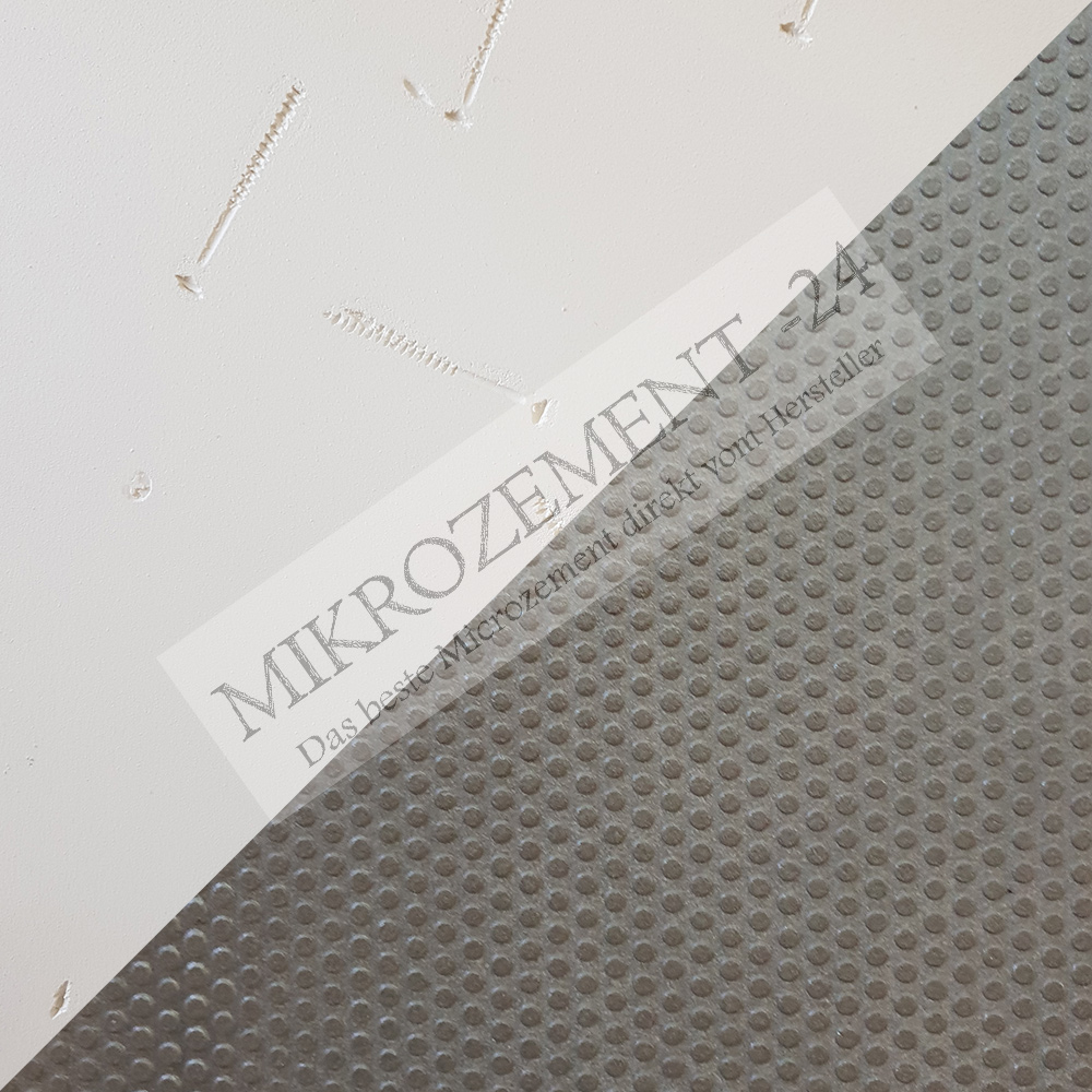 Mikrozement stempeln